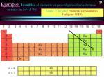 ejemplo identifica el elemento cuya configuraci n electr nica termine en 5s 2 4d 10 5p 5