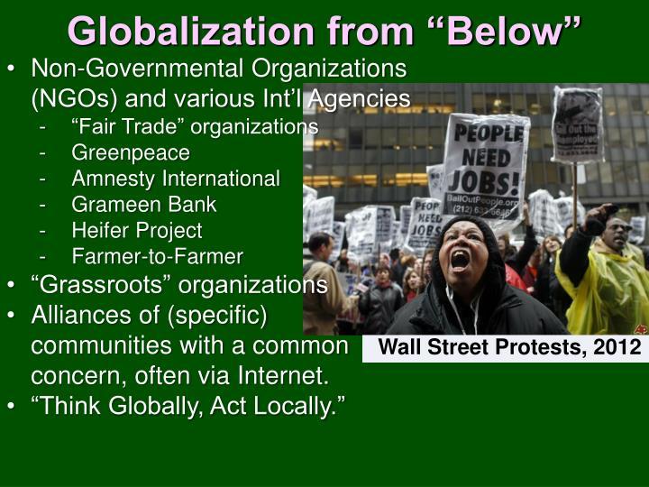 """Globalization from """"Below"""""""