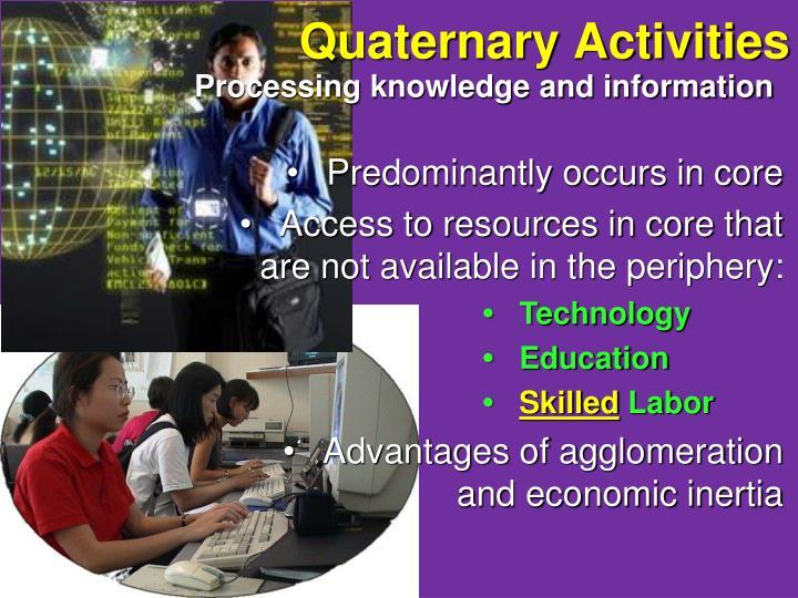 Quaternary Activities
