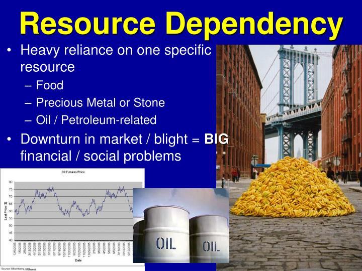 Resource Dependency