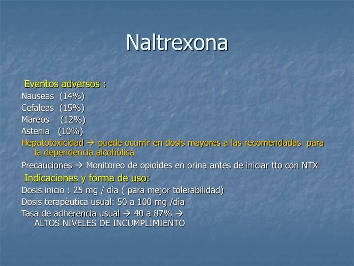 Naltrexona