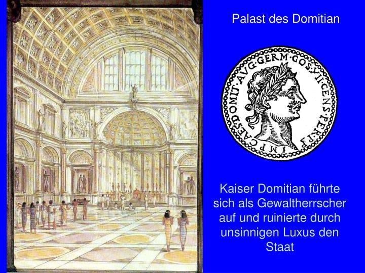 Palast des Domitian