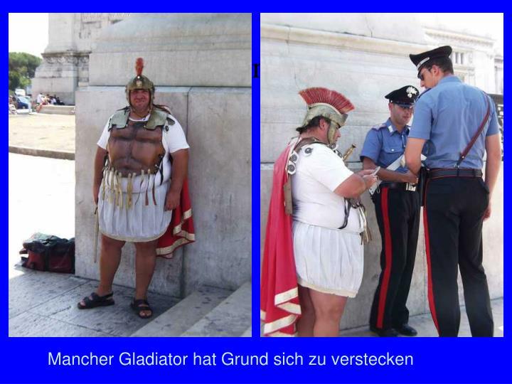 Gladiatoren heute