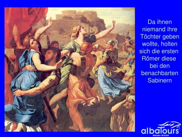 Raub der Sabinerinnen