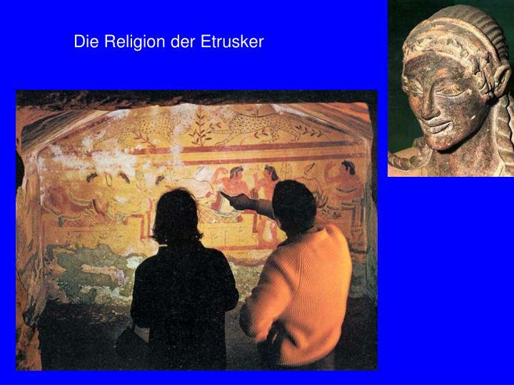 Die Religion der Etrusker