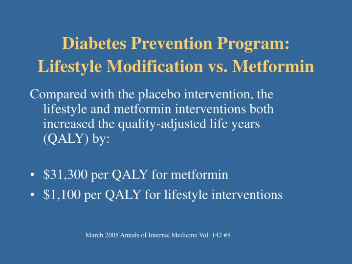 Diabetes Prevention Program: