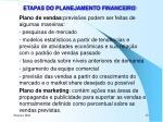 etapas do planejamento financeiro1