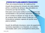 etapas do planejamento financeiro4