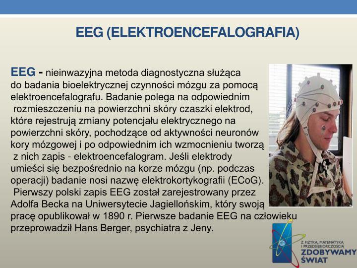 EEG (ELEKTROENCEFALOGRAFIA)