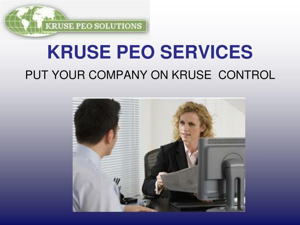 kruse peo services