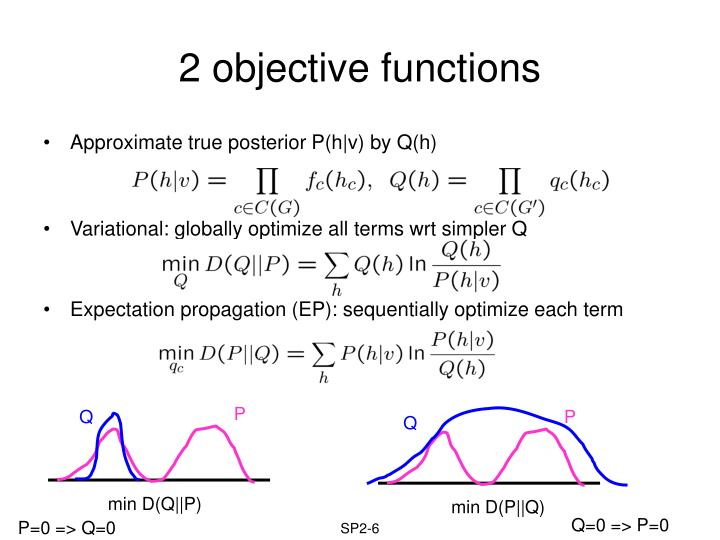 2 objective functions