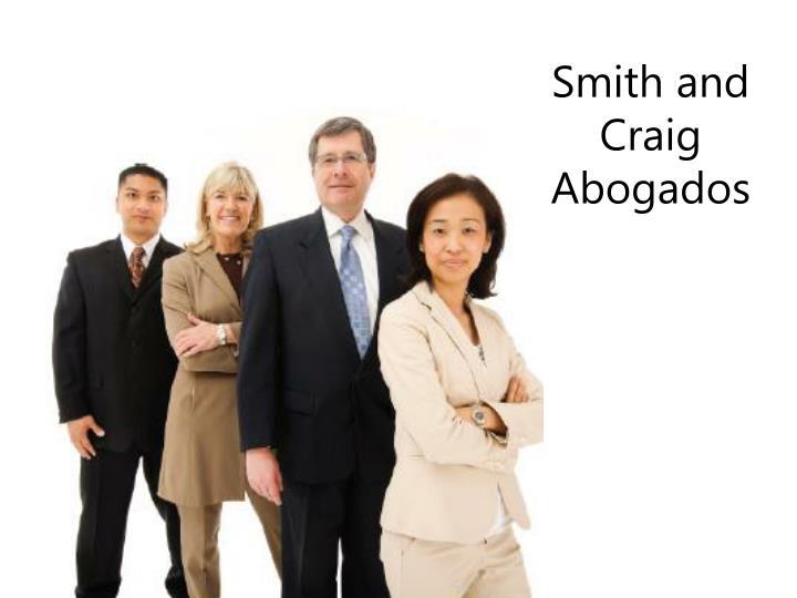 Smith and Craig Abogados