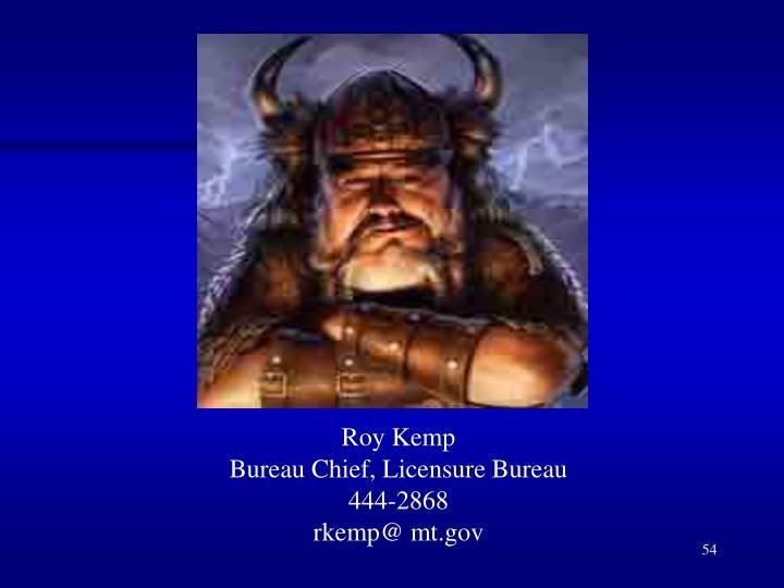 Roy Kemp