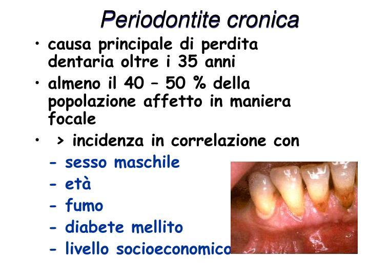 Periodontite cronica