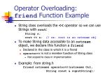 operator overloading friend function example