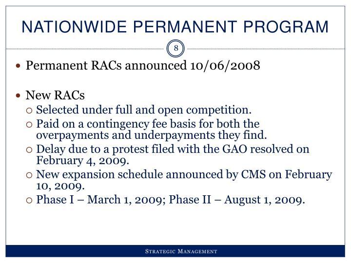 Nationwide Permanent