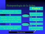 fisiopatolog a de la fiebre