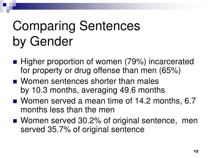 Comparing Sentences