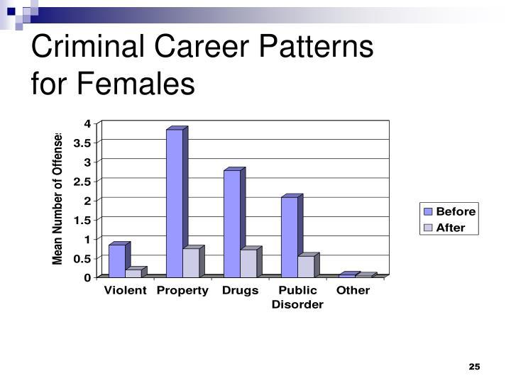 Criminal Career Patterns