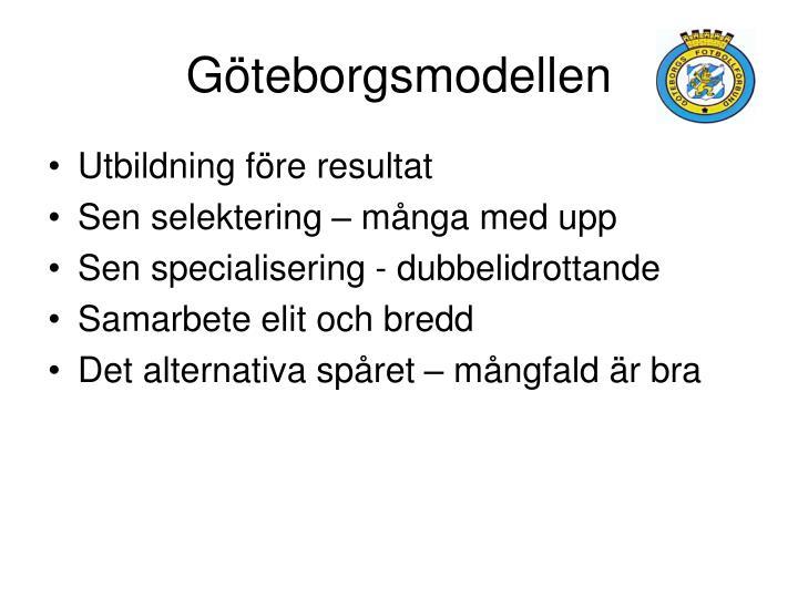 Göteborgsmodellen