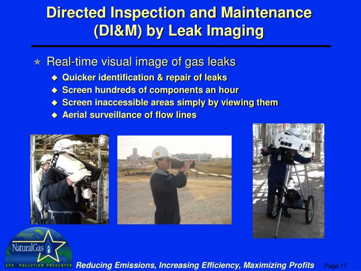 Directed Inspection and Maintenance (DI&M) by Leak Imaging