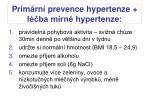 prim rn prevence hypertenze l ba m rn hypertenze