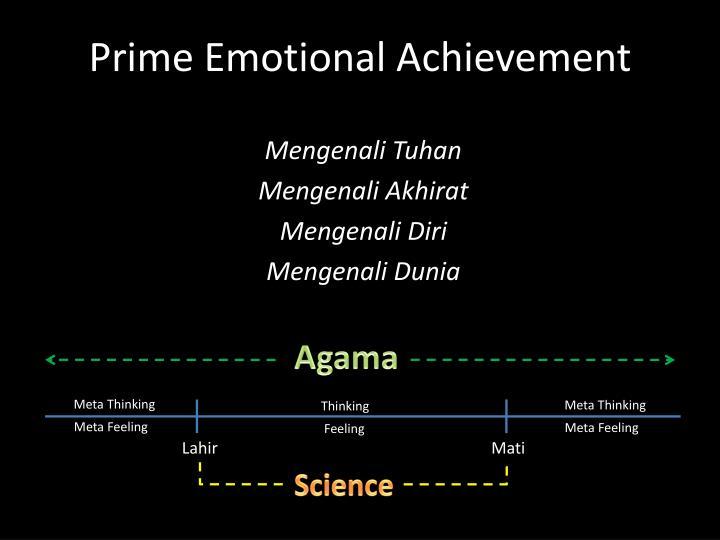 Prime Emotional Achievement