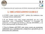 1 2 organizzazioni per la protezione del diritto internazionale dell ambiente