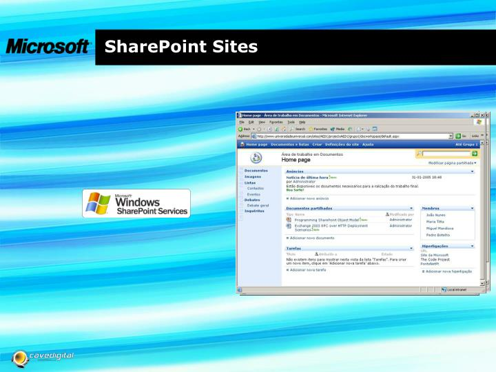 SharePoint Sites