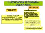 la educaci n secundaria obligatoria