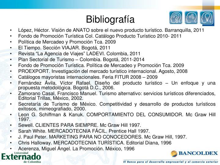 López, Héctor. Visión de ANATO sobre el nuevo producto turístico. Barranquilla, 2011