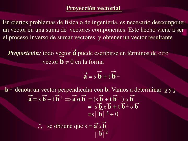 Proposición: