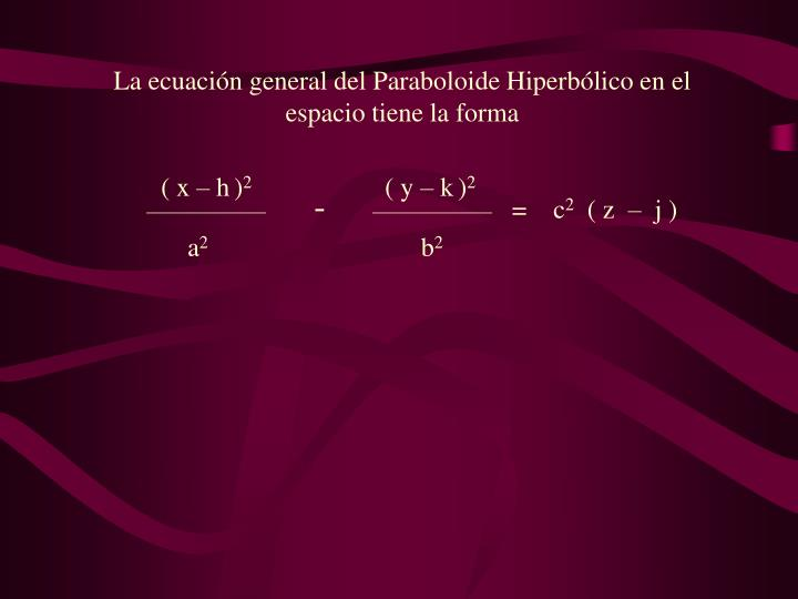 ( x – h