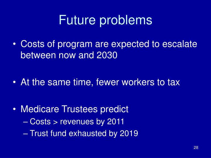 Future problems