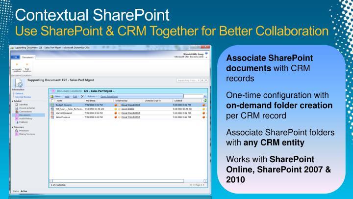 Contextual SharePoint