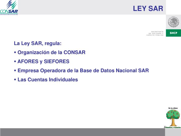 LEY SAR