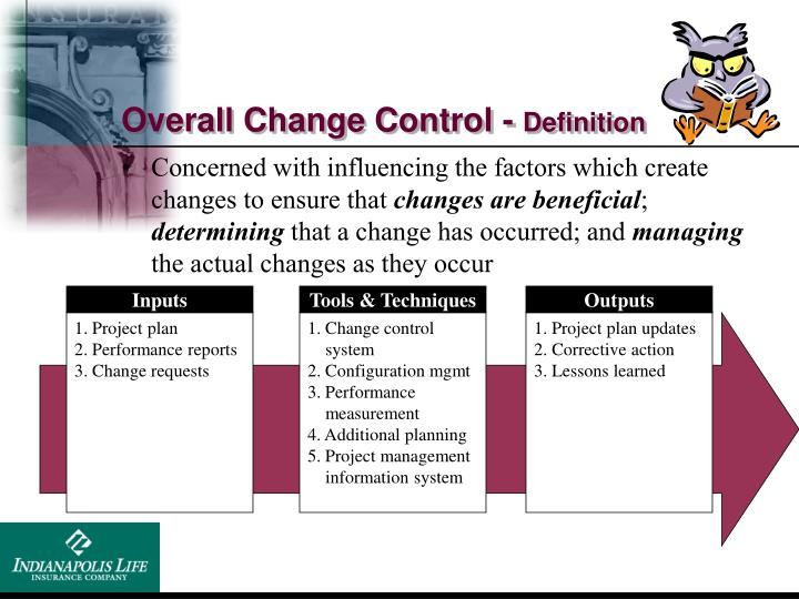 Overall Change Control -