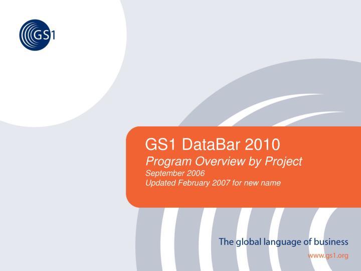 GS1 DataBar 2010