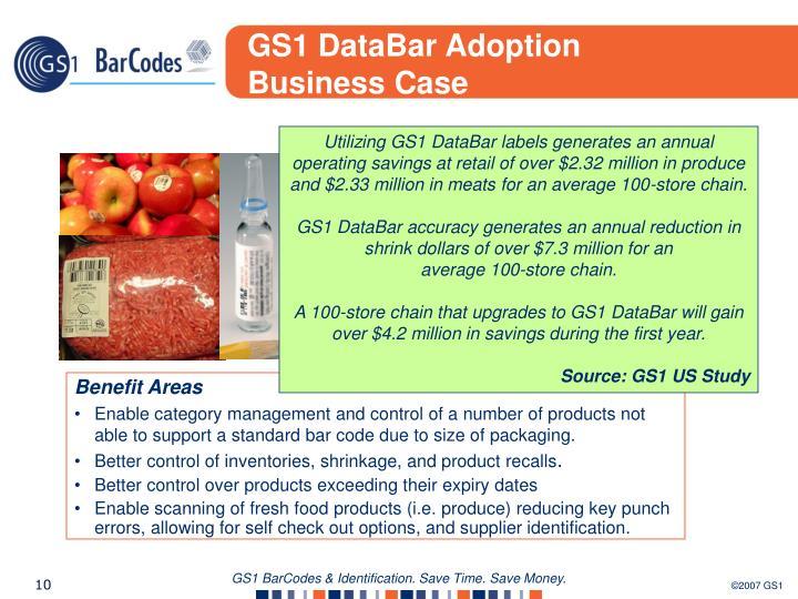 GS1 DataBar Adoption