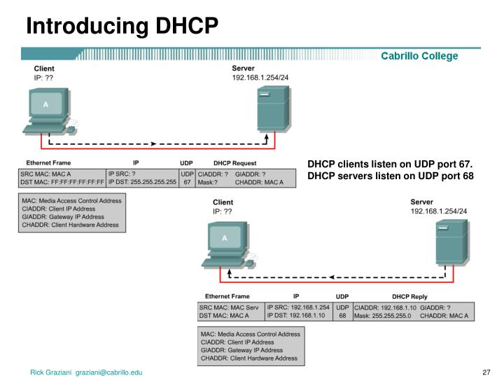 Introducing DHCP