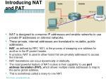 introducing nat and pat