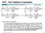pat port address translation2