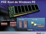 pxe boot de windows pe