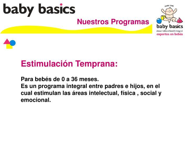 Nuestros Programas