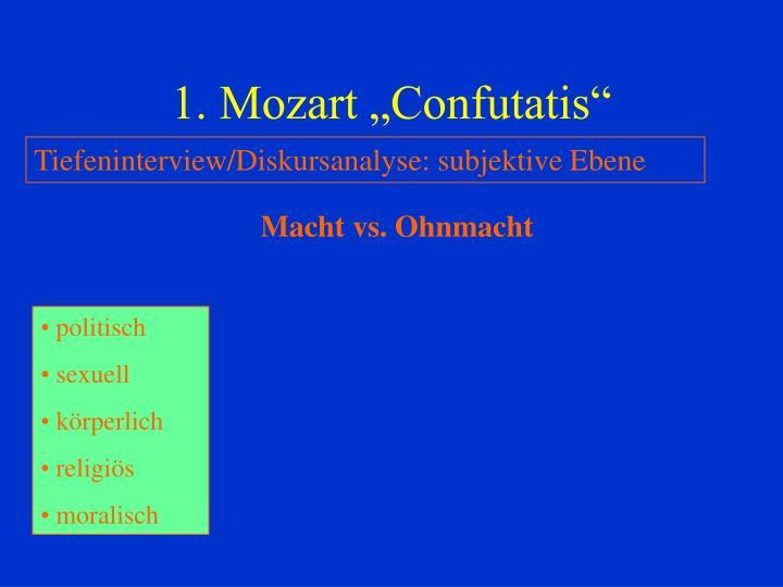 """1. Mozart """"Confutatis"""""""