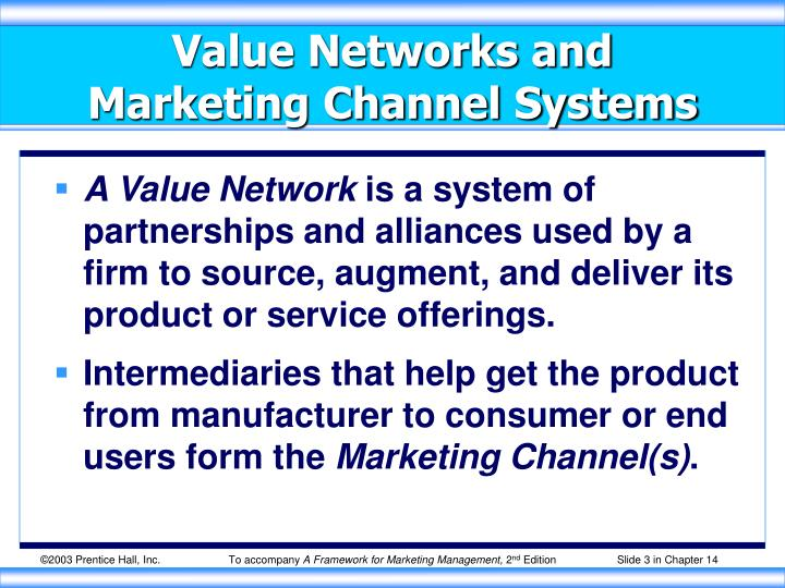 Value Networks and