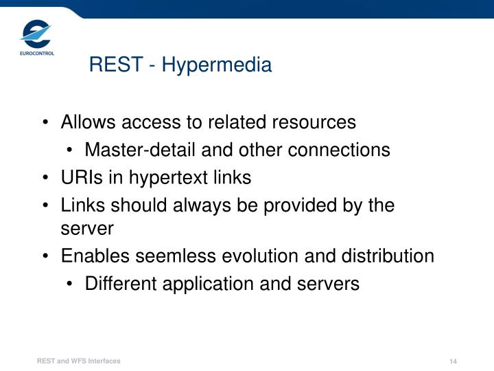 REST - Hypermedia