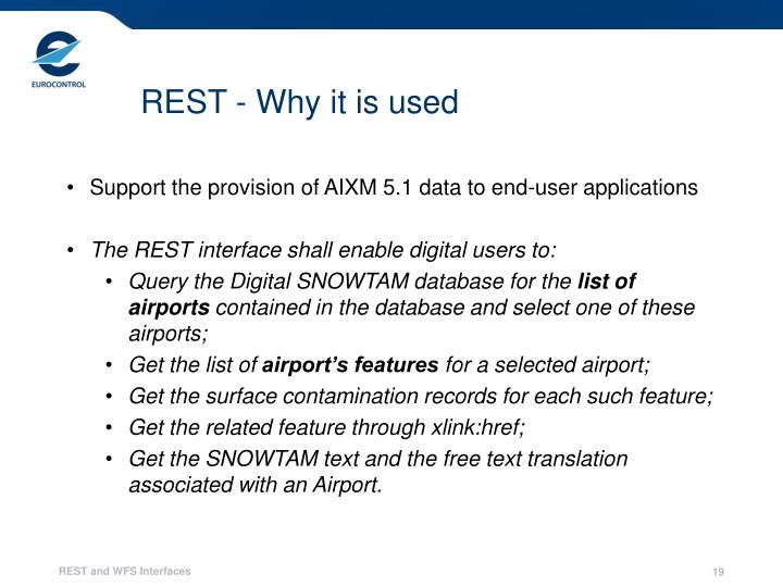 REST - Why it is used