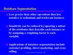 database segmentation1