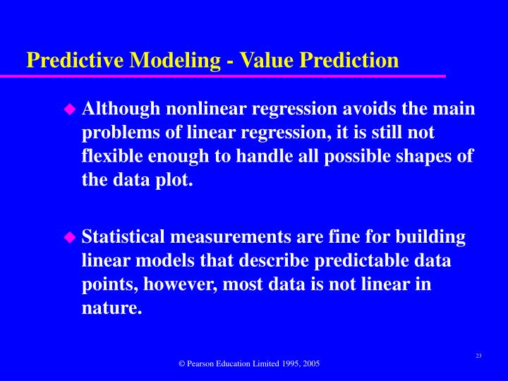 Predictive Modeling - Value Prediction